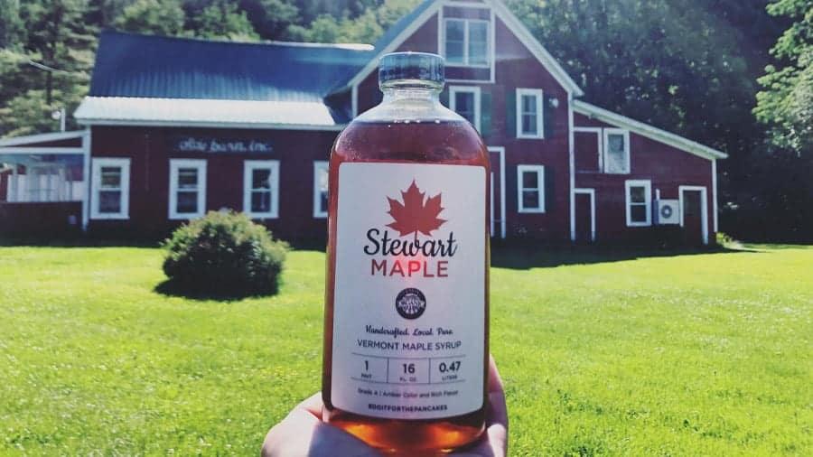 Stewart Maple Syrup Pint