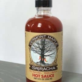 Vermont Maple Sriracha Hot Sauce;;