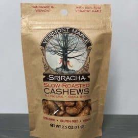 Sriracha roasted cashews
