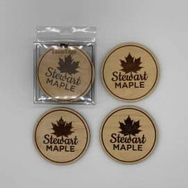 Coasters by Lazeredge for Stewart Maple