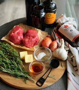 beef tenderloin ingredients