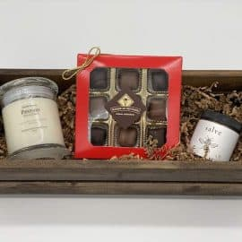 cozy day gift crate