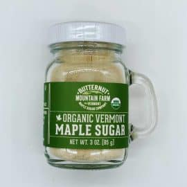 Organic Maple Sugar Shaker