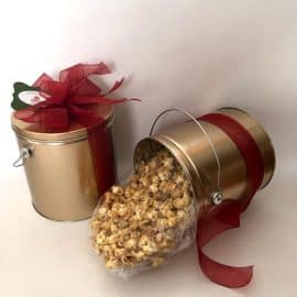 Gallon Tin of Maple Popcorn