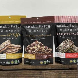 Small Batch Organics Granola Bark Group