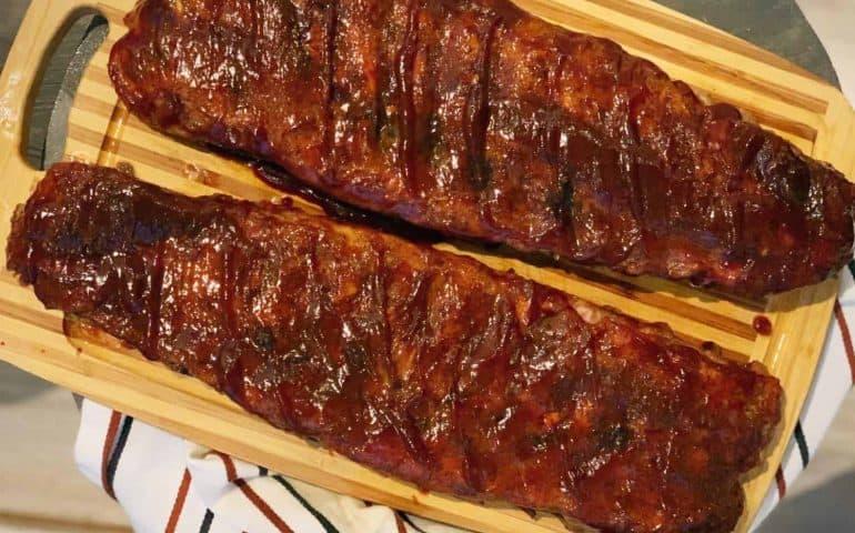 Sweet Maple BBQ Ribs